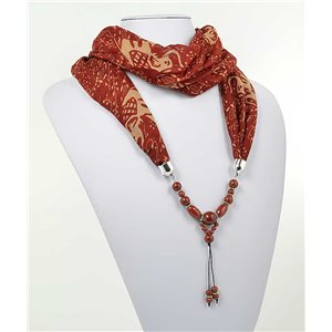 polyester scarf jewelry necklace new collection 2017 70981