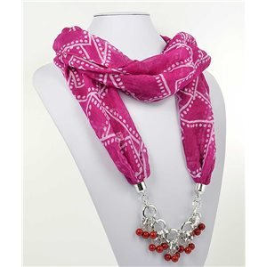 polyester scarf necklace jewelry new collection 2017 70984