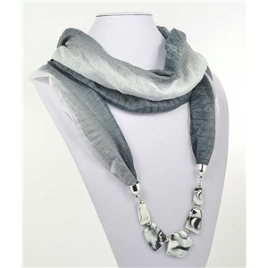 Collier Foulard Bijoux Polyester New Collection 70991