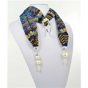 Collier Foulard Bijoux Polyester New Collection 70996