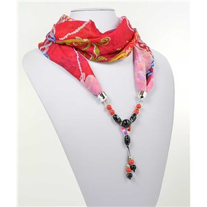 Collier Foulard Bijoux Polyester New Collection 2017 71000