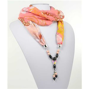 Collier Foulard Bijoux Polyester New Collection 2017 71001