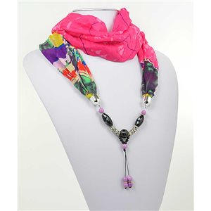 Collier Foulard Bijoux Polyester New Collection 2017 71005