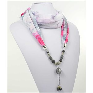 Collier Foulard Bijoux Polyester New Collection 2017 71009