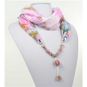 Collier Foulard Bijoux Polyester New Collection 2017 71010