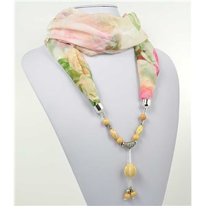 Collier Foulard Bijoux Polyester New Collection 2017 71012