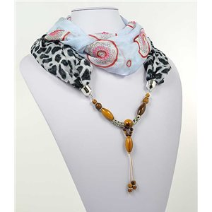 Collier Foulard Bijoux Polyester New Collection 2017 71013