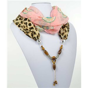 Collier Foulard Bijoux Polyester New Collection 71014