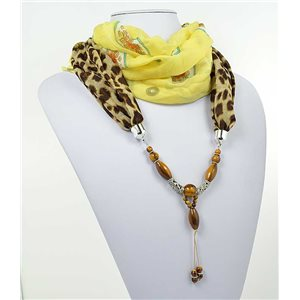 Collier Foulard Bijoux Polyester New Collection 2017 71015