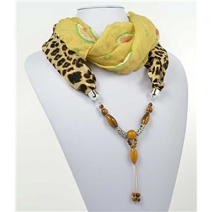 Collier Foulard Bijoux Polyester New Collection 2017 71016