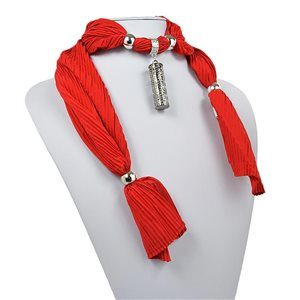 polyester scarf jewelry necklace new collection 2017 70945