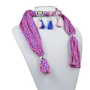 Collier Foulard Bijoux Polyester New Collection 70950