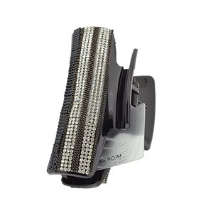 New Collection Hair Clip Black & Strass L10cm 71946