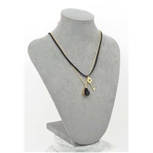 Necklace Natural Stone Collection Chic 2017 L44-50cm 71768