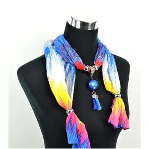 Foulard Bijoux polyester Collection 70957