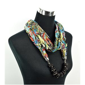 Foulard Bijoux polyester Collection 70960