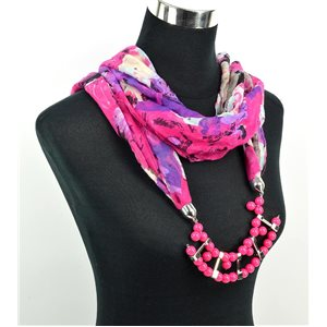 Foulard Bijoux polyester Collection 71018