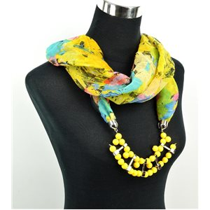 Polyester Jewelry Scarf Spring Collection 2017 71020