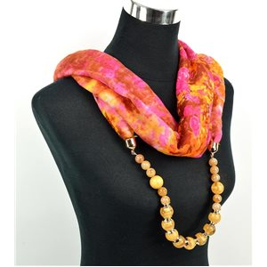 Foulard Bijoux polyester Collection 71026