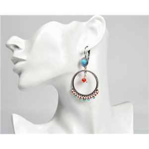 1p Earrings ATHENA New Ethnic Collection 2017 72816