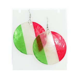 1p Earrings Mother of Pearl Earrings Fashion 5cm 63691