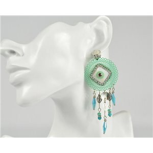 1p Earrings Clip ATHENA New Collection Summer 73390