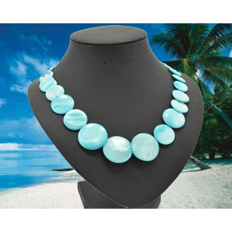 Pearl Necklace Jewelry varnish L50cm 62091