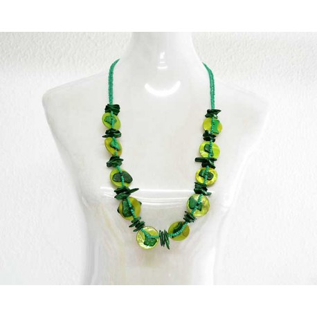 Pearl Choker Necklace Jewelry and Shell 57788