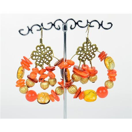1p Earrings Ears Nacre and Shells Fashion Spring Summer 75760