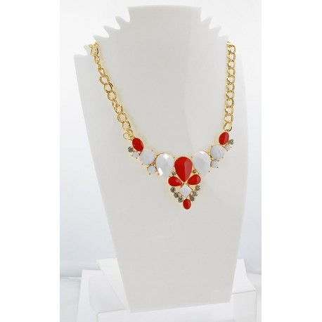 Email Creation necklace ATHENA Princess and Strass 62145
