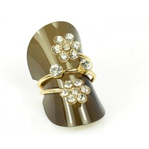 Rhinestones Adjustable Ring New Style Full Rhinestone 65597