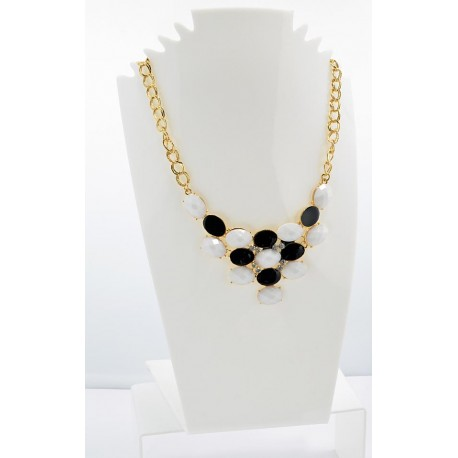 Email Creation necklace ATHENA Princess and Strass 62149