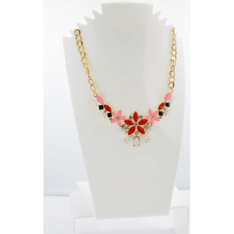 Email Creation necklace ATHENA Princess and Strass 62156