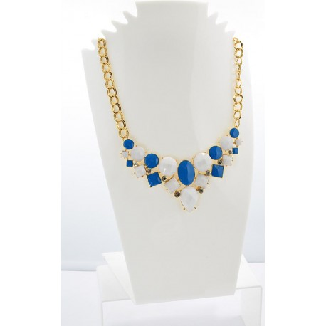 Email Creation necklace ATHENA Princess and Strass 62158