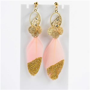 1p Drop Earrings 9cm Original Feather Collection 2019 76509
