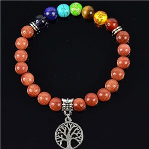 Sandstone Happiness Charm Bracelet Charms Tree of Life Collection 76622
