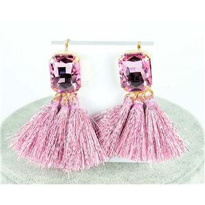 1p earring pendant earrings 8cm New Collection Pompon 2019 76690