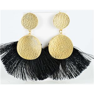 1p Earring Drop Earrings 10cm New Collection Pompon 2019 76703