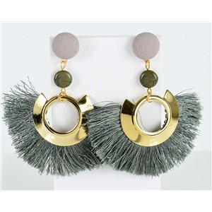 1p earring pendant earrings 8cm New Collection Pompon 2019 76713
