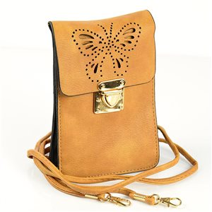 Sac Pochette Femme en Cuir PU 11*17cm New Collection 77046