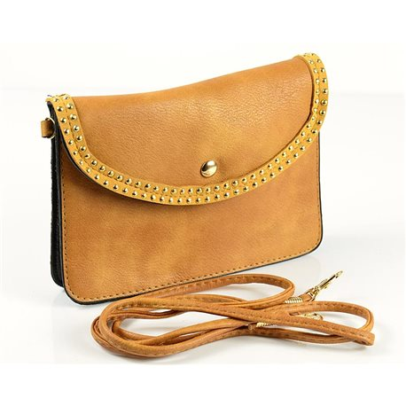 Women's PU Leather Pouch Bag 18 * 13cm New Collection 77035