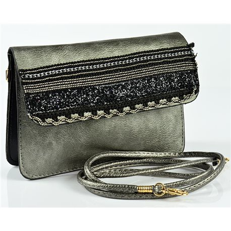 Women's Pouch Bag in PU Leather 19 * 13cm New Collection 77055