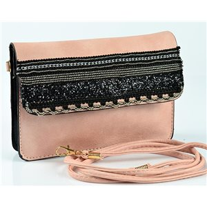 Sac Pochette Femme en Cuir PU 19*13cm New Collection 77056