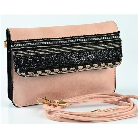 Women's Pouch Bag in PU Leather 19 * 13cm New Collection 77056