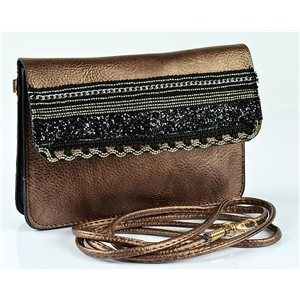 Women's Pouch Bag in PU Leather 19 * 13cm New Collection 77057