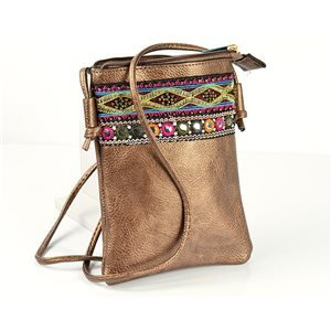 Women's Pouch Bag in PU Leather 13 * 19cm New Collection 77050