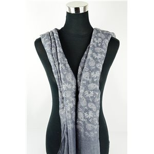 Foulard polyester 180cm-75cm New Collection Eté 77100