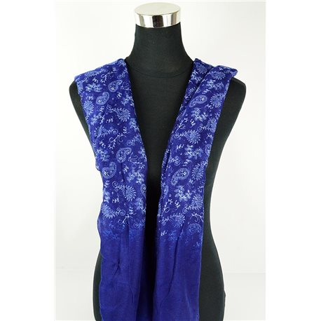 Polyester scarf 180cm-75cm New Summer Collection 77103