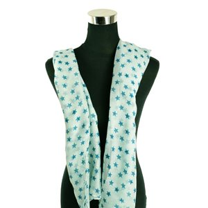 Polyester scarf 180cm-75cm New Summer Collection 77113