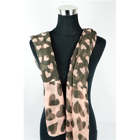 Polyester scarf 180cm-75cm New Summer Collection 77124